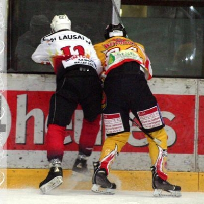 Elite A : Lausanne 4Clubs - SCL Young Tigers le 12/10/2007 (par Patrick Pitton)