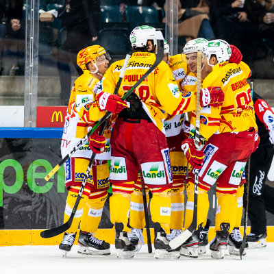 National League : Genève-Servette HC - EHC Biel le 06/12/2019 (par Laurent Daspres)