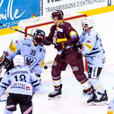 National League : Genève-Servette HC - HC Fribourg-Gottéron le 28/09/2019 (par Laurent Daspres)