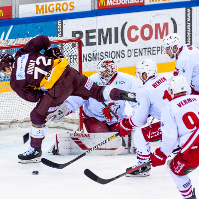 National League : Genève-Servette HC - Lausanne HC le 28/02/2020 (par Laurent Daspres)