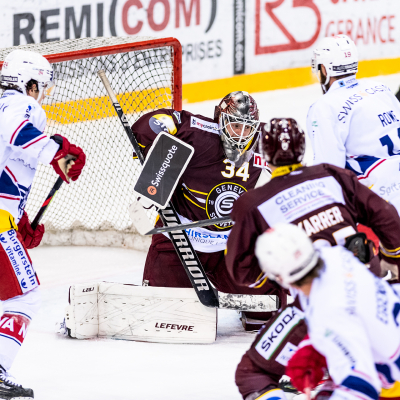 National League : Genève-Servette HC - SC Rapperswil-Jona Lakers le 27/11/2020 (par Laurent Daspres)